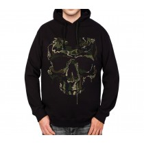 Soldier Skull Military Mens Hoodie S-3XL