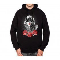 Marilyn Monroe Gangster Men Hoodie S-3XL