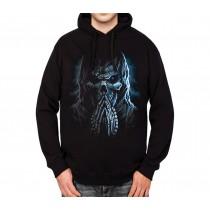 Skull Reaper Pray Horror Mens Hoodie S-3XL
