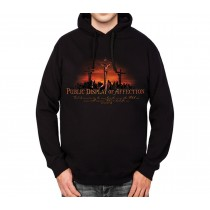 Religious Jesus Affection Mens Hoodie S-3XL