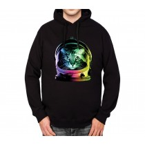 Astronaut Space Cat Mens Hoodie S-3XL