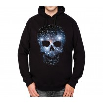 Space Skull Stars Galaxy Mens Hoodie S-3XL