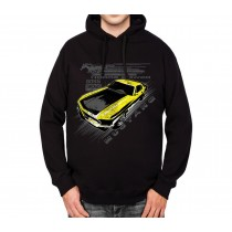 Mustang Yellow Boss 302 Mens Hoodie S-3XL