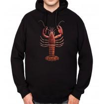 Lobster Krab Mens Hoodie S-3XL