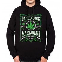 Dank Nugs Marijuana Cannabis Men Hoodie S-3XL