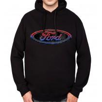 Ford Logo Mens Hoodie S-3XL