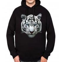 White Tiger Bengal Mens Hoodie S-3XL