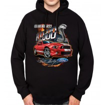 Shelby Ford Mustang GT500 Mens Hoodie S-3XL