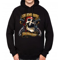 Pirate Skull Guns Mens Hoodie S-3XL
