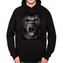 Gorilla Silverback Mens Hoodie S-3XL