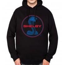 Shelby Cobra Logo Mens Hoodie S-3XL