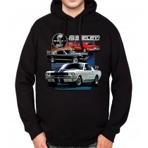 Ford Mustang Shelby Mens Hoodie S-3XL