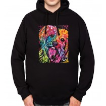 York Dog Mens Hoodie S-3XL
