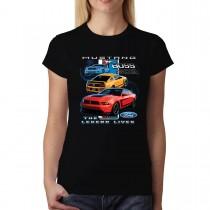 Ford Mustang Boss 302 The Legend Women T-shirt XS-3XL New