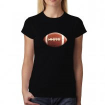 Football Ball Sport 3D Women T-shirt XS-3XL New
