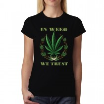 Cannabis Smoke Women T-shirt XS-3XL New
