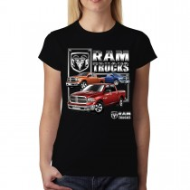 Chrysler Ram Trucks Women T-shirt M-3XL