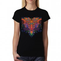 Colourful Lion Womens T-shirt L-3XL