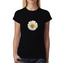 White Daisy Flower Women T-shirt XS-3XL New