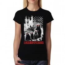 Bear Family Women T-shirt XS-3XL New
