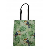 Handmade Eco Shopping Bag Grocery Reusable Design Toucan