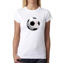 Soccer Sport Ball 3D Women T-shirt XS-3XL New