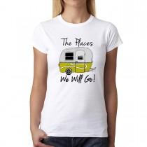 Camper Summer Time Holiday Women T-shirt XS-3XL New