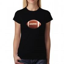 Football Ball Sport 3D Women T-shirt XS-3XL New
