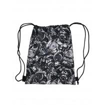 Handmade Drawstring Backpack Waterproof Bag Sport Travel Hiking Motorcycle