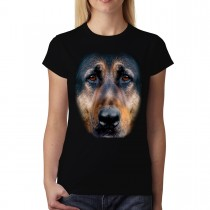 German Shephard Animals Women T-shirt M-3XL New