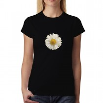 White Daisy Flower Women T-shirt XS-3XL New