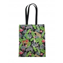 Handmade Eco Shopping Bag Grocery Reusable Design Jungle