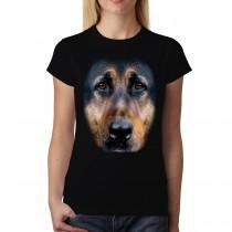 German Shephard Animals Women T-shirt M-3XL New