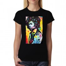 Hendrix Colourful Women T-shirt XS-2XL New