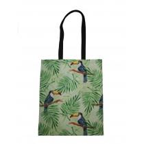 Handmade Eco Shopping Bag Grocery Reusable Design Toucan