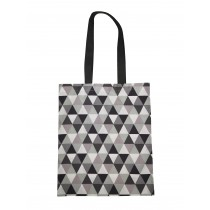 Handmade Eco Shopping Bag Grocery Reusable Design Triangles